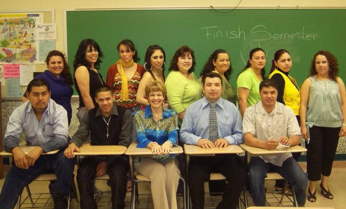 Daiva Kochin ESL class